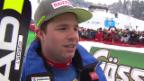 Video «Beat Feuz nach 2. Platz in Kitzbühel: «Ich finde keine Worte»» abspielen