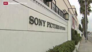 Video «Sony sagt Filmstart ab» abspielen