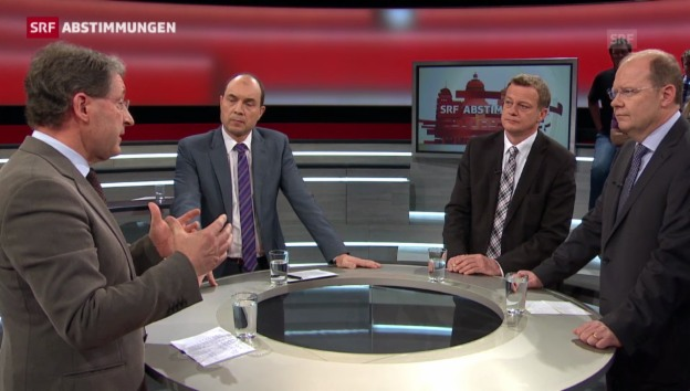 Video «Roundtable zur SVP-Initiative» abspielen