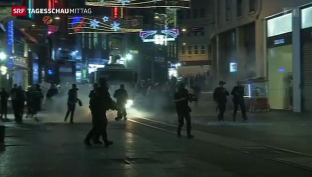 Video «Tote bei Protesten in der Türkei» abspielen