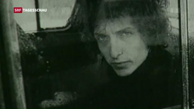 Video «Literaturnobelpreis für Bob Dylan» abspielen
