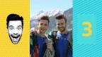 Video «Luca Hänni lässt Michel Birri aus dem Flugzeug springen» abspielen
