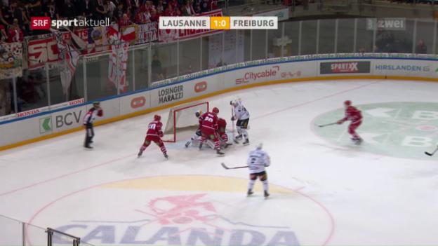 Video «Lausanne kehrt zum Siegen zurück» abspielen