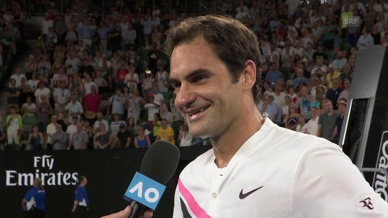 Federer über die Night-Session-Diskussion