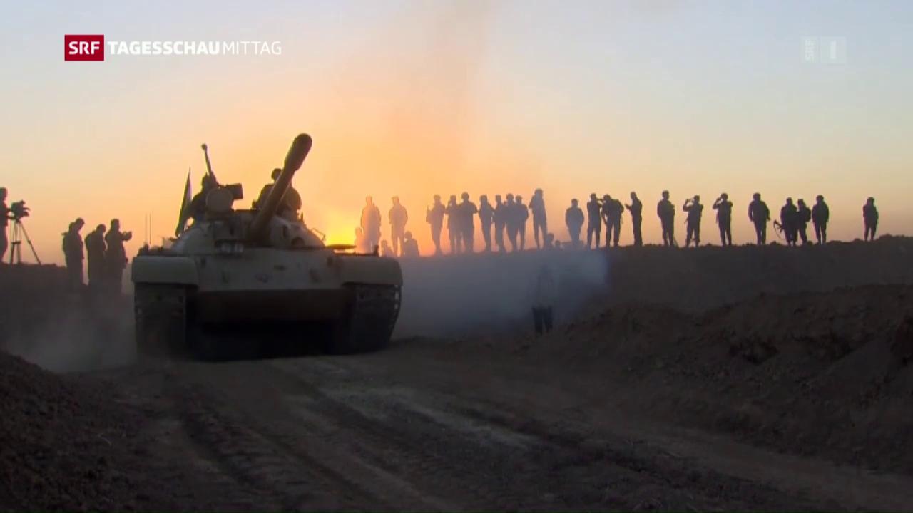Tag drei der Grossoffensive auf Mossul