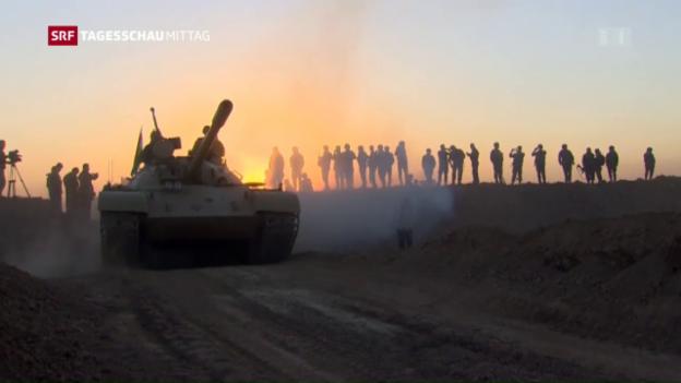 Video «Tag drei der Grossoffensive auf Mossul» abspielen
