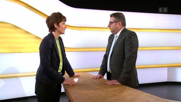 Video «Studiogespräch mit Martin Metzger, Steuerfachmann VZ Vermögenszentrum» abspielen