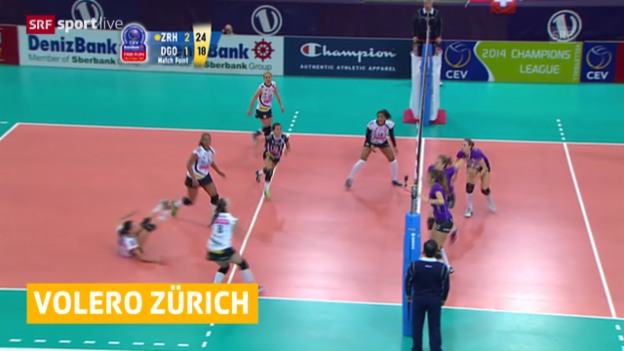 Video «Volleyball: Volero - Gornicza» abspielen