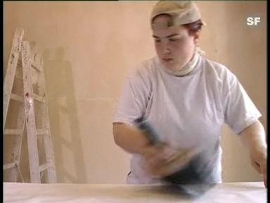Video «Berufsbild: Malerin EFZ» abspielen