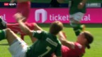 Video «Fussball: St. Gallen - Grasshoppers» abspielen