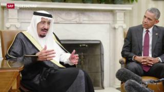 Video «US-Beziehung zu Saudi-Arabien so schlecht wie nie» abspielen