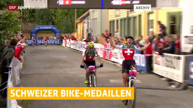 Video «Rad: Erfolgreiche Schweizer Biker» abspielen