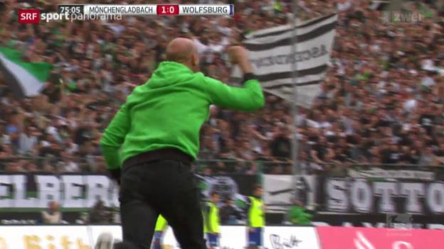 Video «Fussball: Die Situation in Mönchengladbach» abspielen