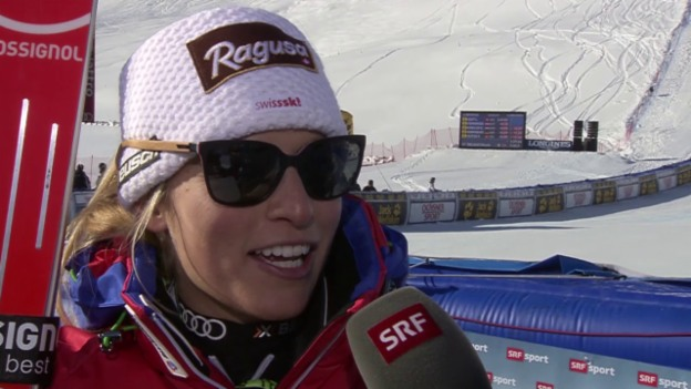 Video «Ski Alpin: Lara Gut im Interview» abspielen