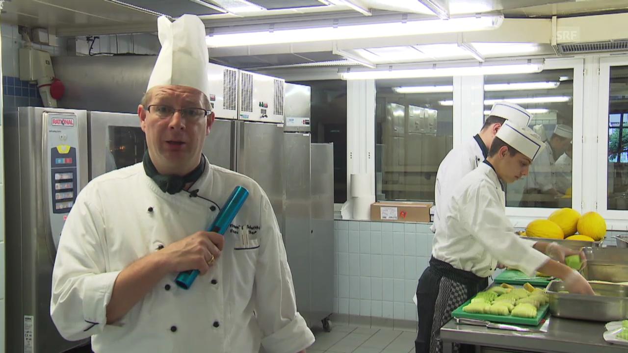 1. Tag: Flemming Schulthess, Küchenchef Athletenhotel