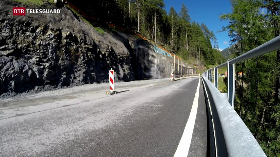 Emprimas lavurs da siglientar il tunnel Alpetta