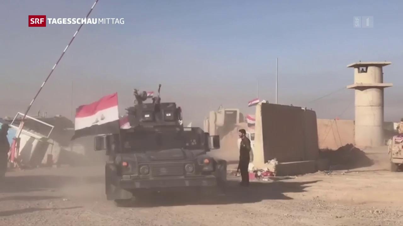 Gefechte zwischen Kurden und irakischer Armee