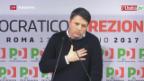 Video «Italiens Demokratische Partei sucht neue Leitfigur» abspielen