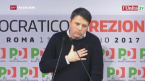 Video «Italiens Demokratische Partei sucht neue Leitfigur » abspielen