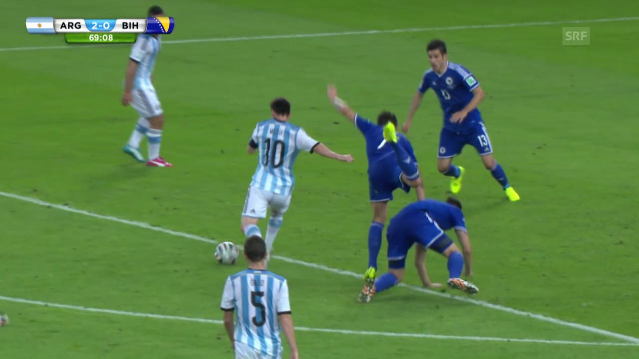 FIFA WM 2014: Argentinien - Bosnien: Die Highlights