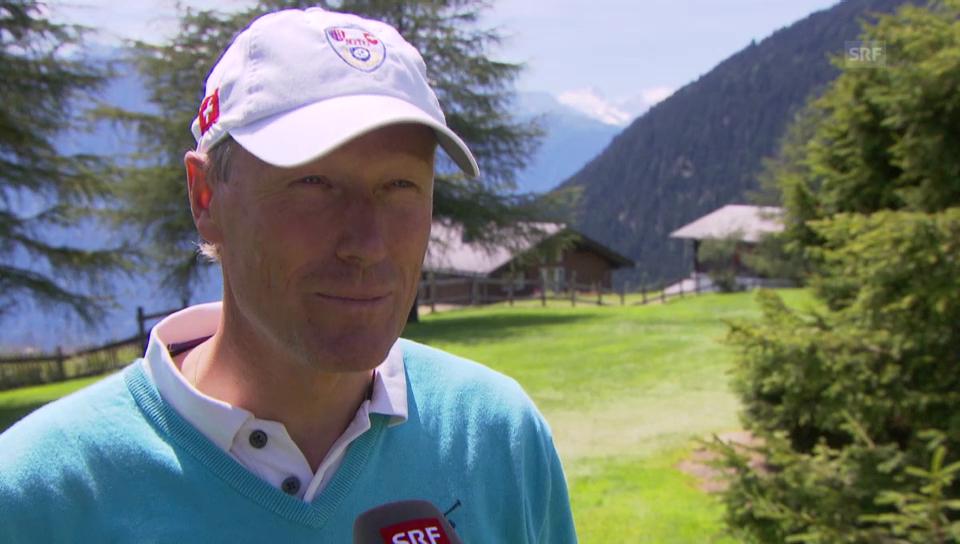 Zurbriggen, Girardelli & Co. beim Golfen