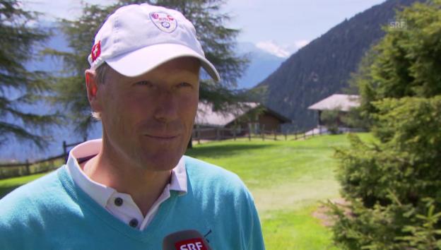 Video «Zurbriggen, Girardelli & Co. beim Golfen» abspielen