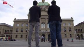 Video «Jungparteien vereint gegen Überwachung» abspielen
