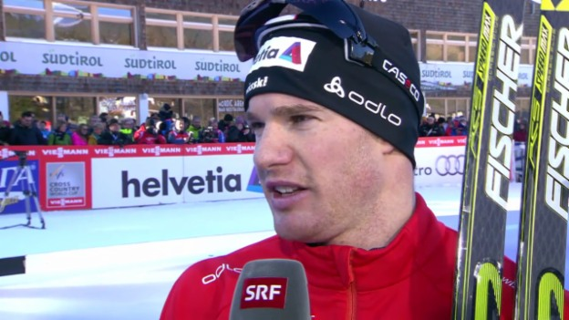 Video «Langlauf: Tour de Ski, 4. Etappe, Interview Cologna» abspielen