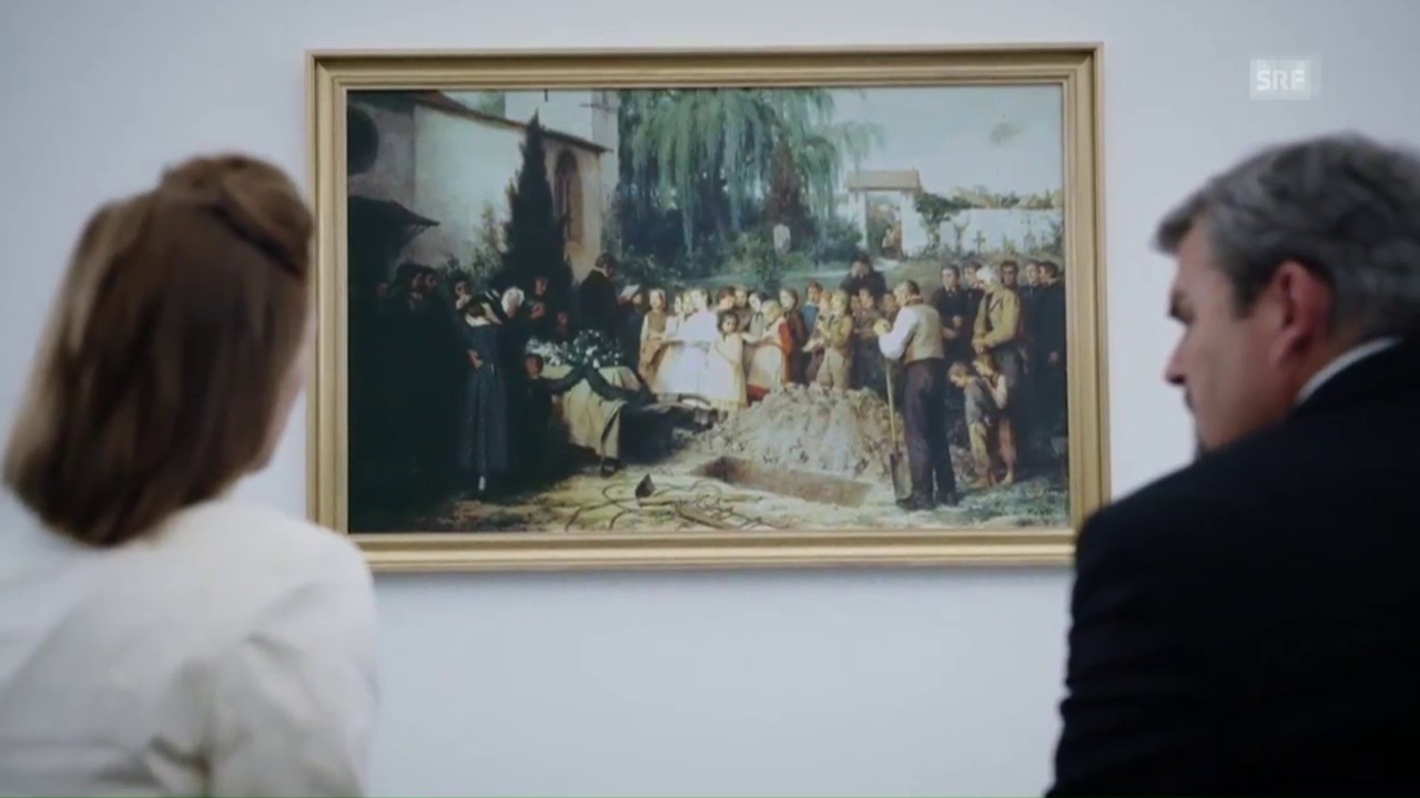 Albert Ankers «Kinderbegräbnis» im «Bestatter»