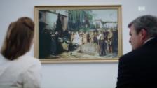 Video «Albert Ankers «Kinderbegräbnis» im «Bestatter»» abspielen