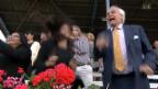 Video «Alexander Pereira am Pferderennen in Frauenfeld» abspielen