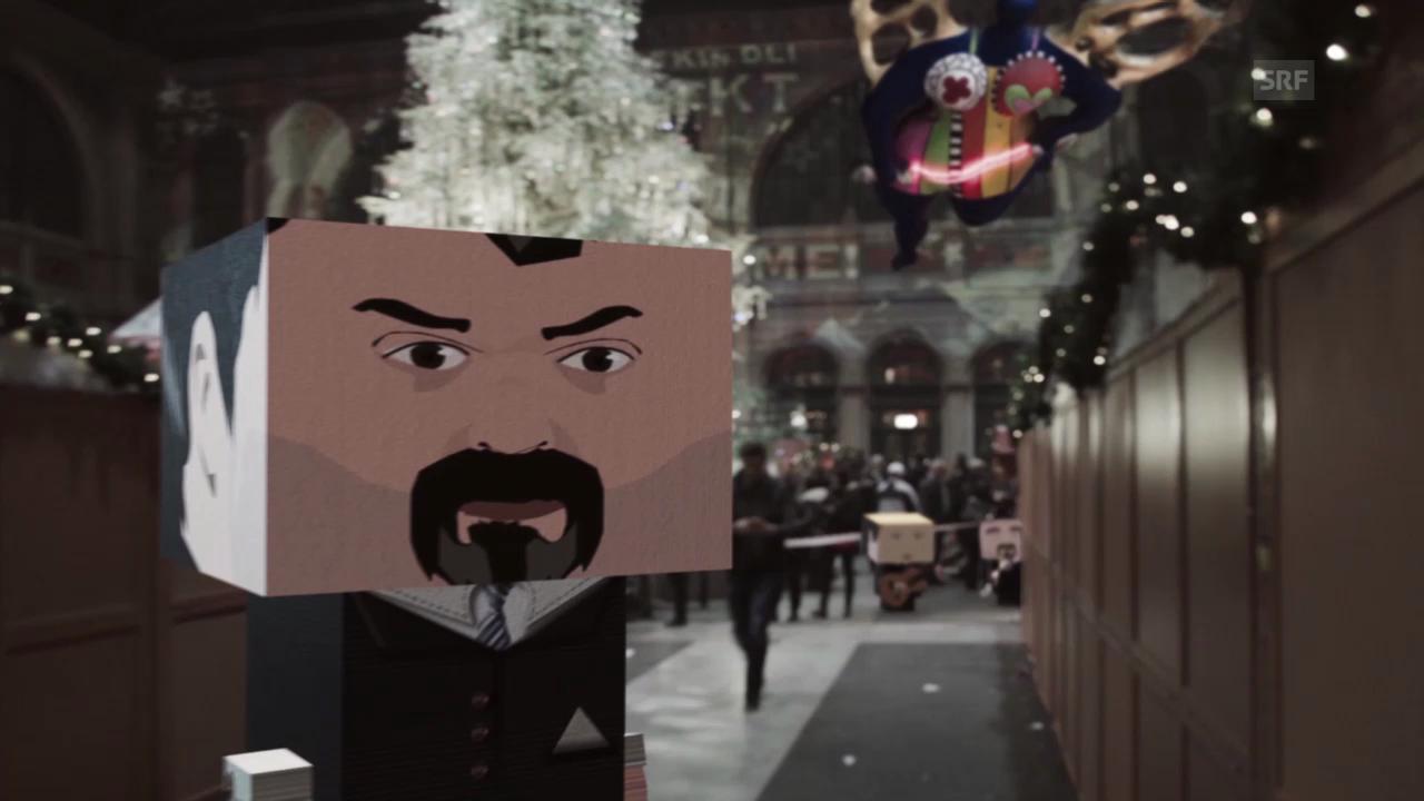 Die Ruhe ist vorbei - Weihnachtsmarkt