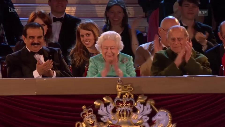 Feierlichkeiten 90. Geburtstag der Queen (unkomm.)