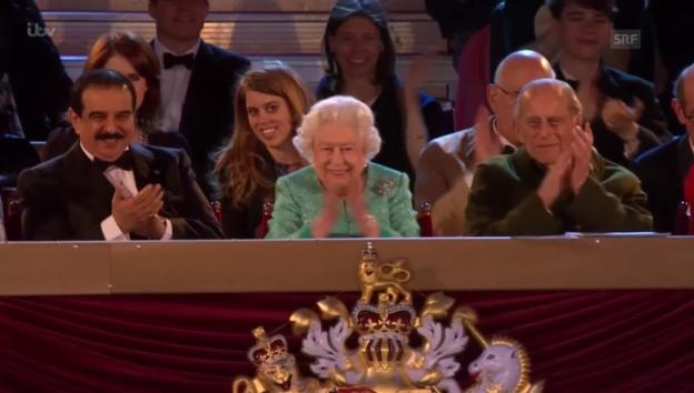 Video «Feierlichkeiten 90. Geburtstag der Queen (unkomm.)» abspielen