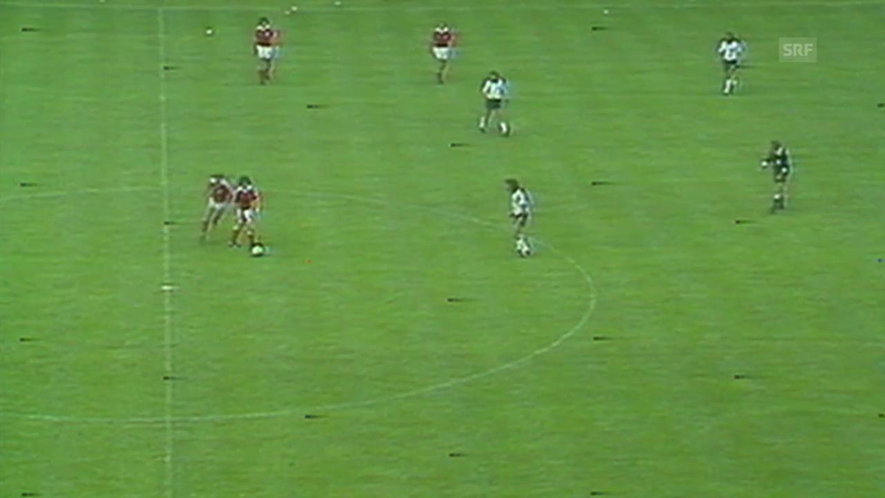 WM 1994: Nichtangriffspakt bei BRD - Österreich