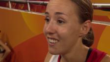Video «Interview Büchel nach 800-m-Halbfinal» abspielen