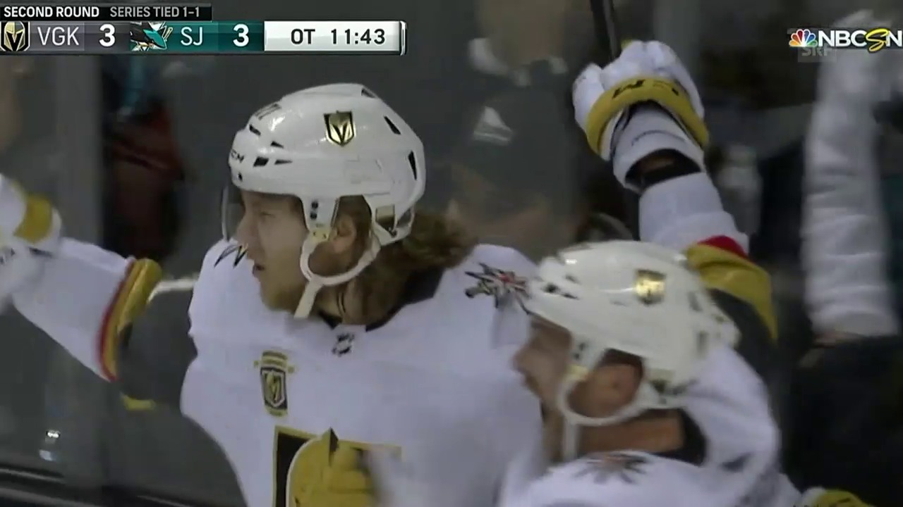 Golden Knights schaffen das Break in San Jose