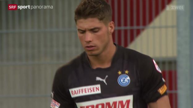 Video «Fussball: Super League, Vaduz - GC» abspielen