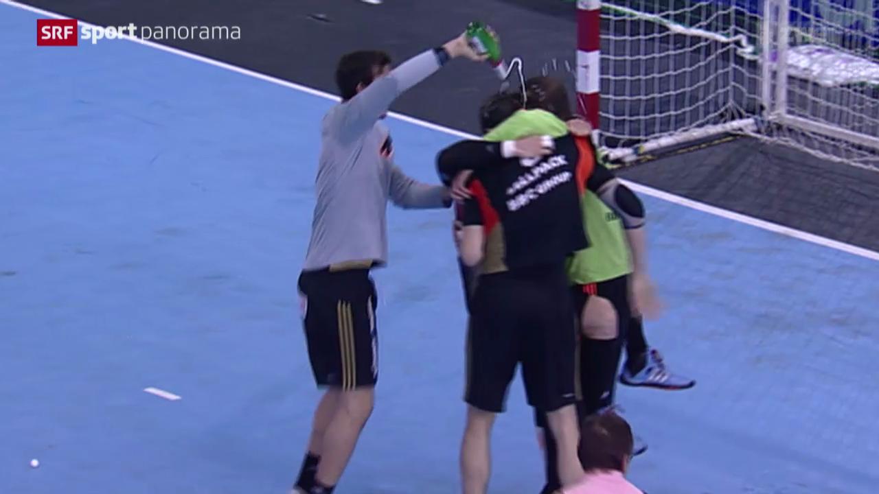 Handball: Playoff-Final, Pfadi Winterthur - Kadetten Schaffhausen