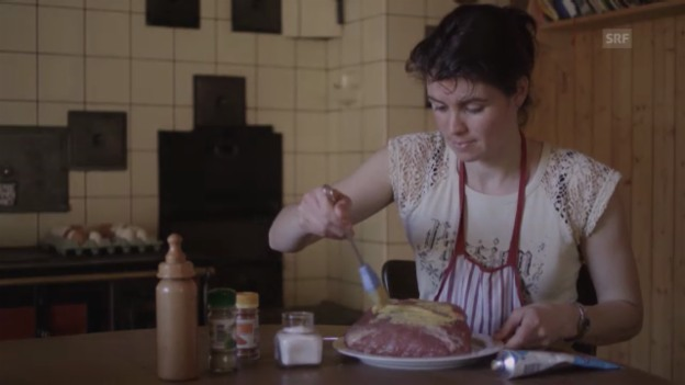 Video «Margrits Alpenküche: Schweinebraten» abspielen