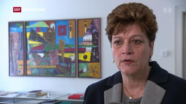 Video «Schulvorsteherin Silvia Steiner nimmt zum Fall Jegge Stellung» abspielen