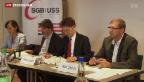 Video «Schweizer Gewerkschaften läuten Lohnherbst ein» abspielen