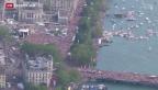 Video «Hunderttausende tanzen ums Zürcher Seebecken» abspielen