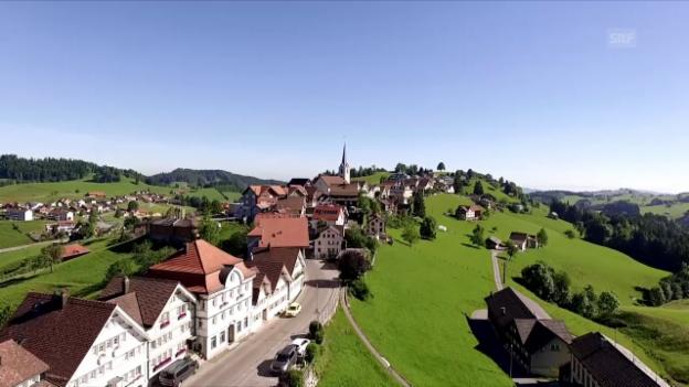 Video «Dorfporträt: Schwellbrunn (AR)» abspielen