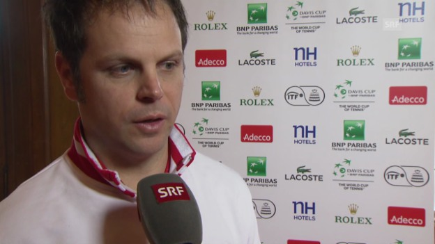 Video «Tennis: Interview mit Severin Lüthi» abspielen