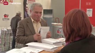 Video «Linke Tendenz bei Parlamentswahlen» abspielen