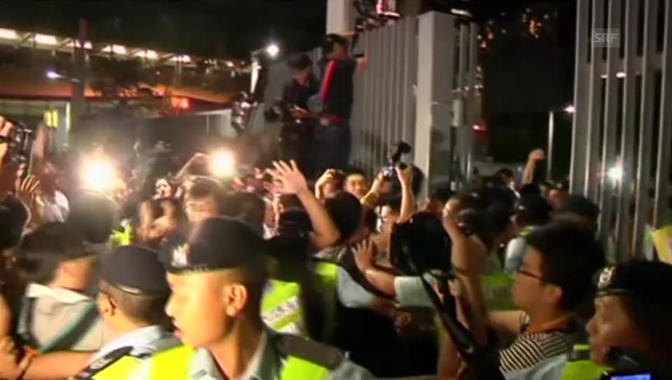 Proteste für mehr Demokratie in Hongkong