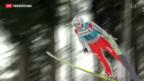 Video «Skispringen: Ammann enttäuscht» abspielen