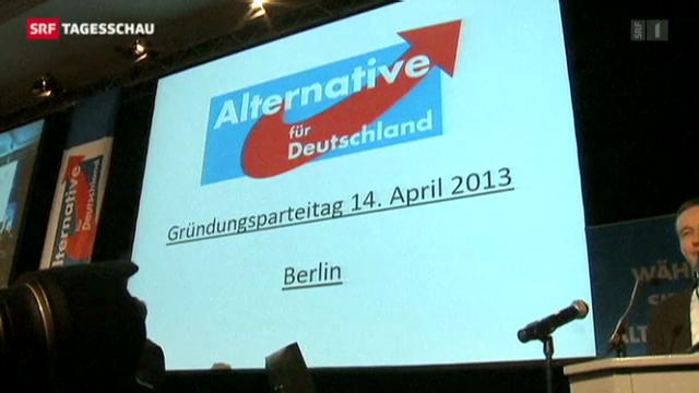 Neue Partei gegründet. (Tagesschau 14.4.2013)