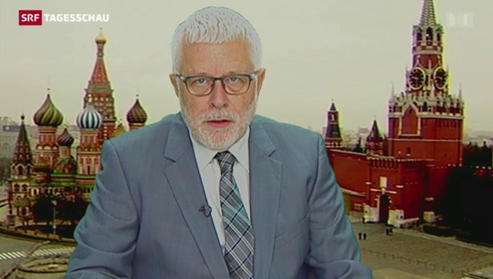 Einschätzungen von Russland-Korrespondent Peter Gysling
